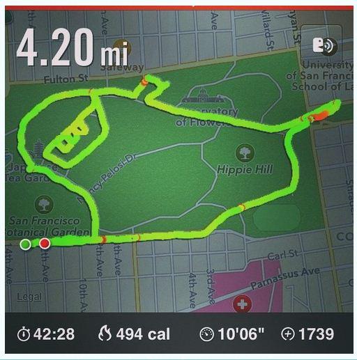 slimer running app