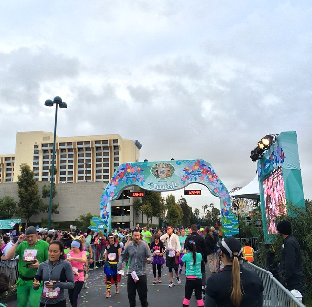 Tinker Bell 10K Finishing Line