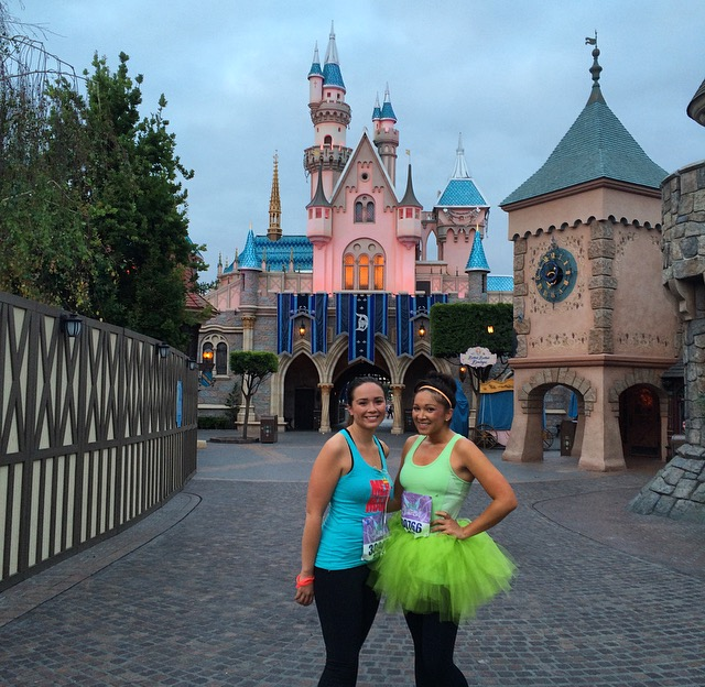 Tinker Bell 10K in Front of the Castle