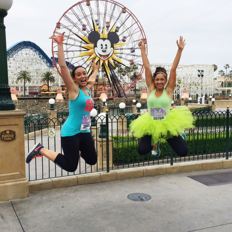 Tinkerbell 10K Jumping Photo