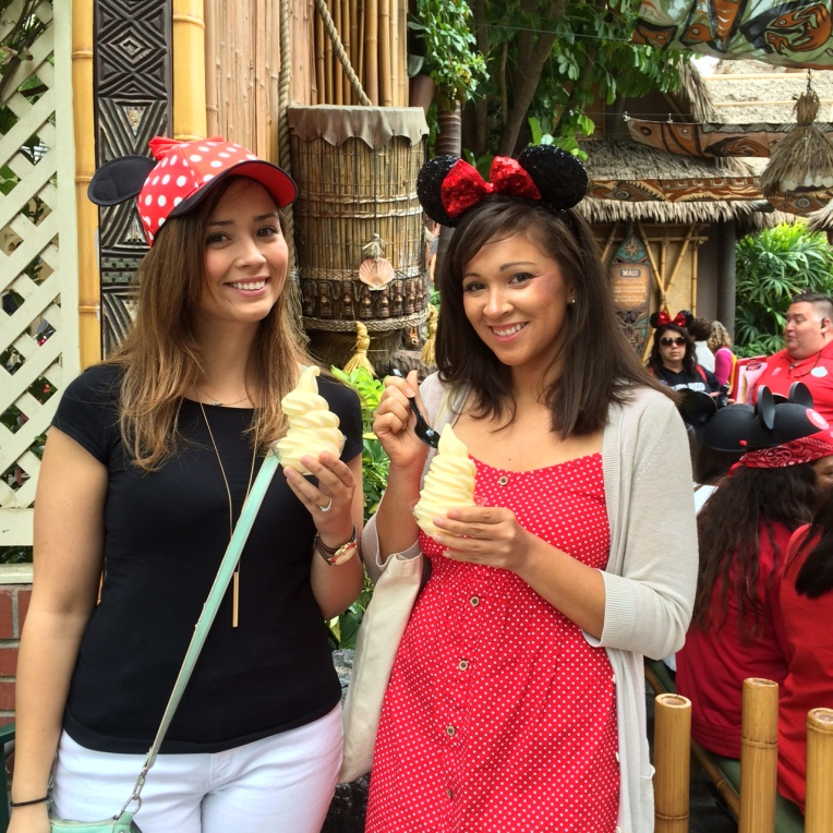 Dole Whip in Disneyland
