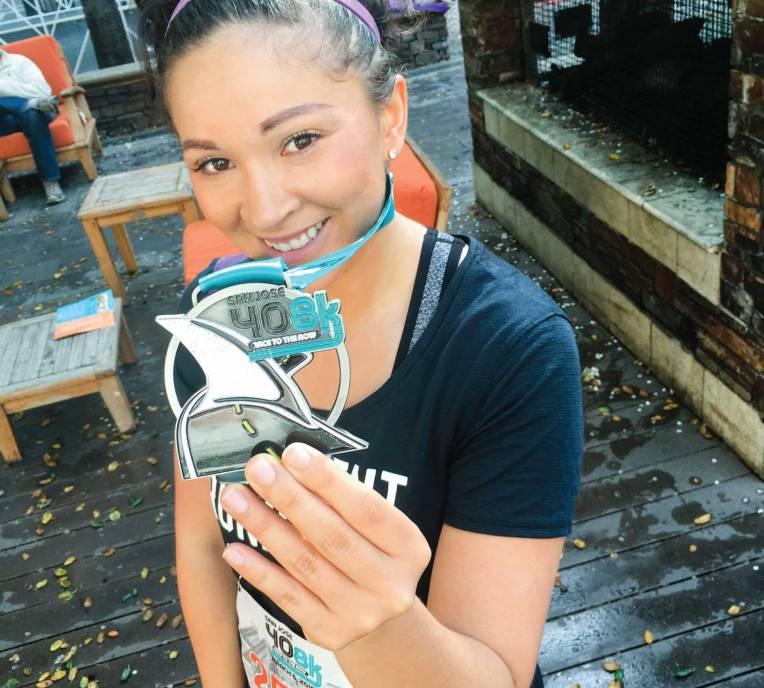 2016 408K finisher's medal